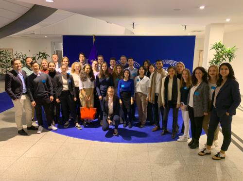 European Parliament visit 2019